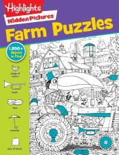 Highlights Hidden Pictures Farm Puzzles