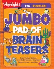 Highlights Jumbo Pad Of Brain Teasers