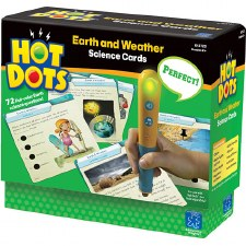 Hot Dots Earth And Weather Science Cards