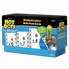 Hot Dots Math Flashcards Multiplication