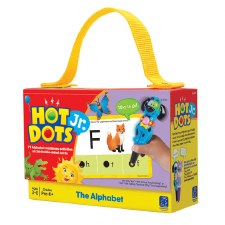 Hot Dots Jr The Alphabet