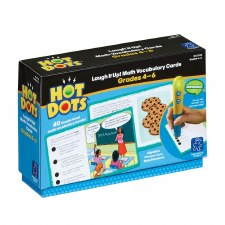 Hot Dots Laugh It Up! Math Vocab Cards 4-6