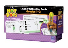 Hot Dots Laugh It Up! Spelling Cards Grade 1-3