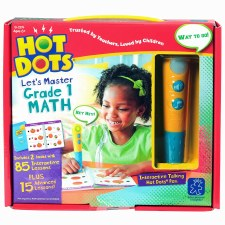 Hot Dots Lets Master Math Grade 1