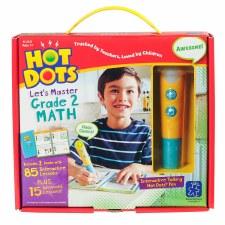 Hot Dots Lets Master Math Grade 2