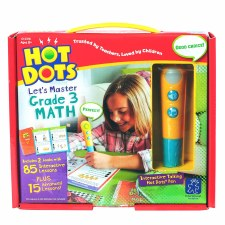 Hot Dots Lets Master Math Grade 3
