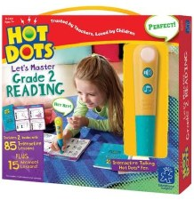Hot Dots Lets Master Grade 2 Reading