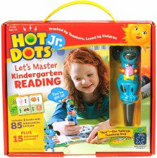 Hot Dots Lets Master Kindergarten Reading