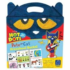 Hot Dots Jr. Pete The Cat Preschool Rocks