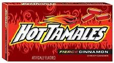 Hot Tamales Cinnamon Candy