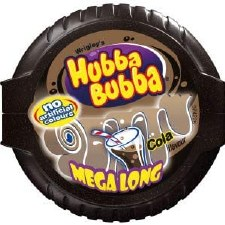 Hubba Bubba Tape Gum Cola