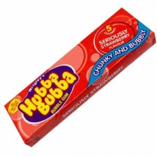 Hubba Bubba Chunky & Bubbly Strawberry