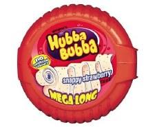 Hubba Bubba Tape Gum Strawberry