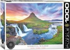 Eurographics 1000pcs Kirkjufeli Iceland