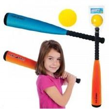Foam Baseball Set Jumbo Bat And Ball