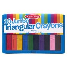 Melissa & Doug 10 Jumbo Crayons