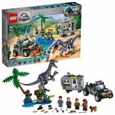 Lego Jurassic Baryonyx Face Off: The Treasure Hunt 75935