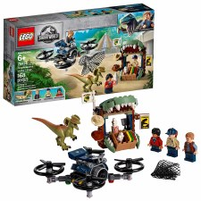 Lego Jurassic Dilophosaurus On The Loose 75934