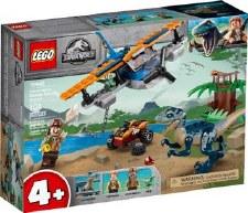 Lego Jurassic World Velociraptor Biplane Rescue Misson