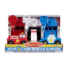 Melissa & Doug Keys & Cars Rescue Garage