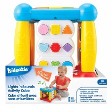 Kidoozie Lights N Sound Activity Cube