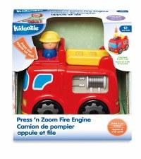Kidoozie Press N Zoom Fire Engine