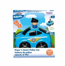 Kidoozie Press N Zoom Police Car