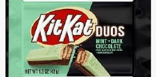 Kit Kat Duos Mint And Dark Chocolate