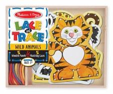 Melissa & Doug Lace & Trace Wild Animal