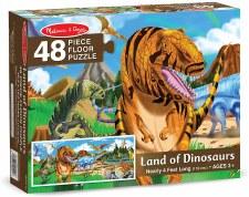 Melissa & Doug Floor Puzzle Land Of Dinosaurs