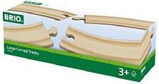 Brio Large Curved Tracks 33342