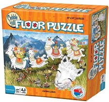 Cobble Hill Floor Puzzle Leaping Llamas 36pc