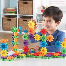 Learning Resources Gears Deluxe Building Set 100pc