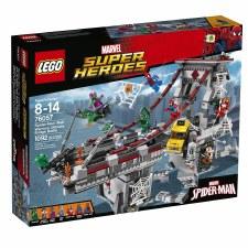 Lego Super Heroes Spider Man Web Warriors Ultimate Bridge Build 76057