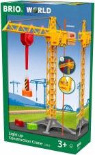 Brio Light Up Construction Crane 33835