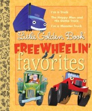 Little Golden Books Free Wheelin Favorites