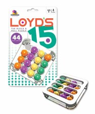 Loyd's 15 The Block And Roll Puzzle