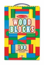 Melissa & Doug Wooden Blocks 100 Pc Set