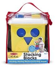 Melissa & Doug Stacking Blocks