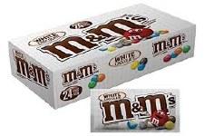 M&m White