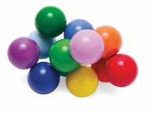 Manhattan Toy Classic Wooden Baby Beads Coloured