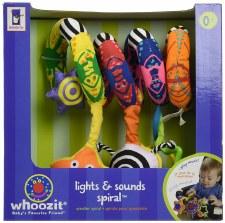 Manhattan Toy Whoozit Lights And Sound Spiral