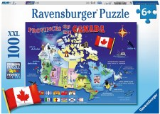 Ravensburger 100pc Maps Of Canada
