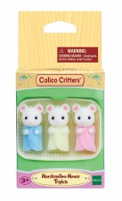 Calico Critters Marshmellow Mouse Triplets