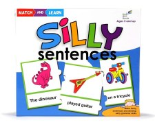 Match And Learn Silly Sentences