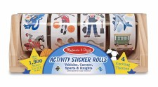 Melissa & Doug Activity Sticker Rolls Race To Rescue