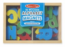 Melissa & Doug Magnetic Wood Alphabet