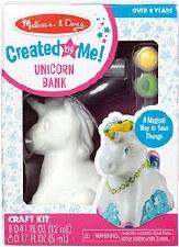 Melissa & Doug Created By Me Unicorn Bank