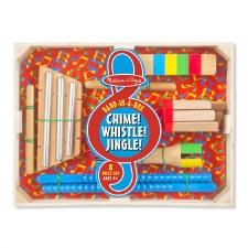 Melissa & Doug Chime Whistle Jingle Band In A Box