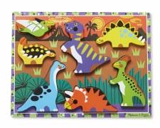 Melissa & Doug Chunky Puzzle Dinosaur